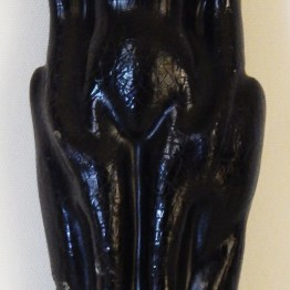 "Neutralizes negative energies-Latin America/Caribbean-Latino/Caribe-Wax-7 1/2"" tall"