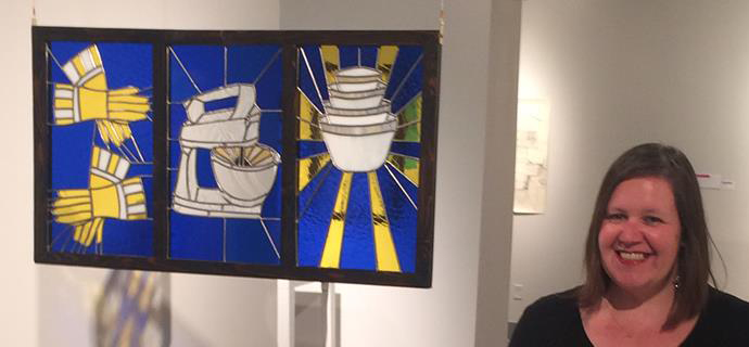 Leaded Glass Triptych-2013-Mariah Chase