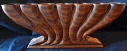 """To celebrate Kwanzaa-United States (African American Cultural Center in Los Angeles)-African American-Wood-10 1/4"""" x 4 1/4"""""""