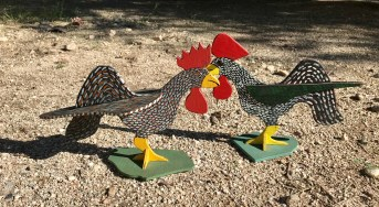 Imagination Chickens-By Marvin Finn Louisville, KY 1983/1984
