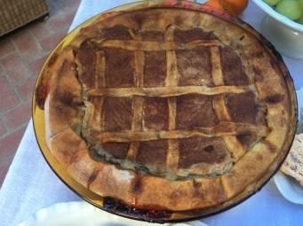 Casatella, a Christmas ricotta pie from Terracina (Latina, Lazio region).