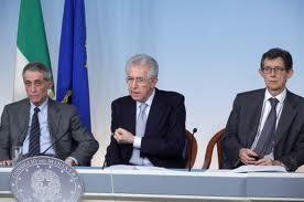 Monti, Giarda e Bondi, gli attori principali della spending review