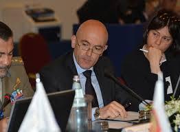 Il Sottosegretario alla Difesa, on Gioacchino Alfano