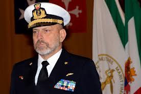 L'amm. Giuseppe De Giorgi, Capo di SMM