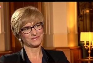 La Ministra nell'intervista a SKY TG 24