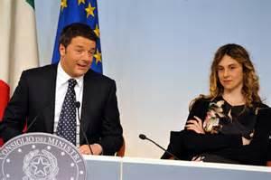Il Presidente Renzi e la Ministra Madia