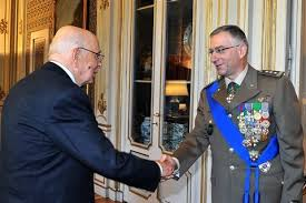 Il gen. Claudio Graziano con il Capo dello Stato