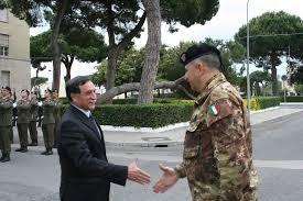 Il Sottosegretario alla Difesa, Domenico Rossi