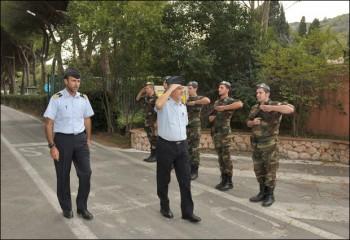 Il Gen. Li Causi in visita al 64° Deposito AM di Porto S. Stefano