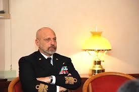 Il Capo di SMM, amm. G. De Giorgi