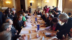 Il tavolo istituzionale su Taranto 19.10.2015