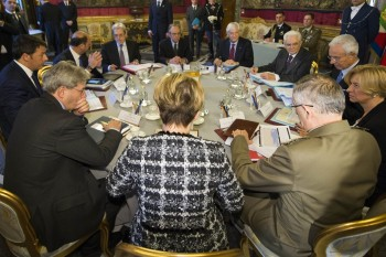 La riunione del Consiglio Supremo Difesa del 25.02.2016