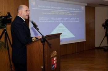 Amm. P.L. Ricca, Capo del 1° Reparto di SMM