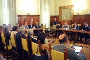 La Ministra Madia ad un incontro con le OO.SS. in Funzione Pubblica