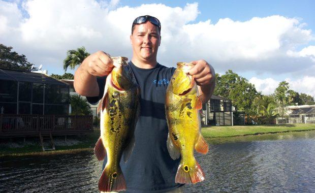 Tony fishing in Miami