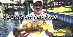 Capt Brett Isackson - Florida Peacock bass fishing guides