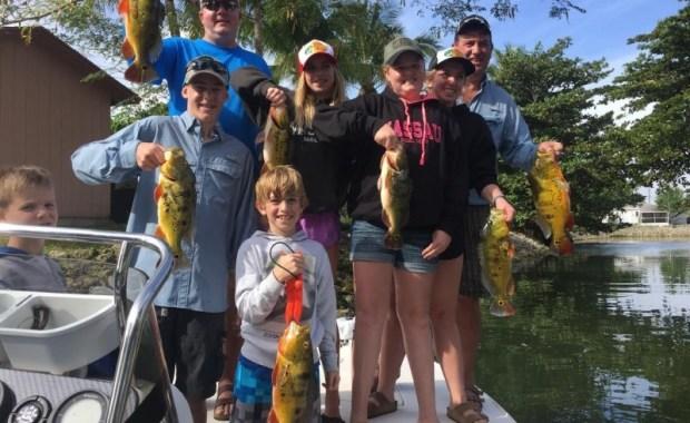 South Florida Peacock Bass fishing report