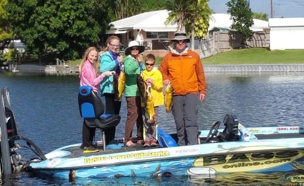 Lake Ida peacock Bass