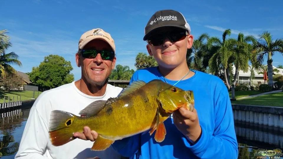 Peacock Bass Fishing Trip In Palm Beach
