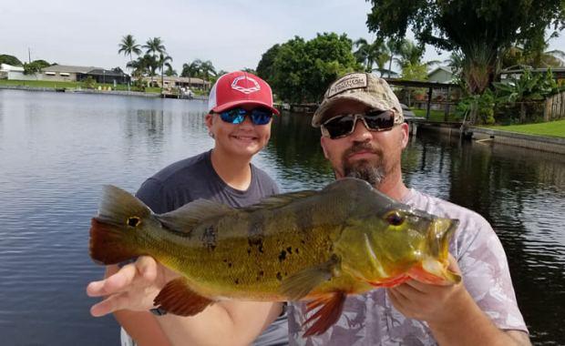 Austin-Nick-Florida Peacock bass fishing