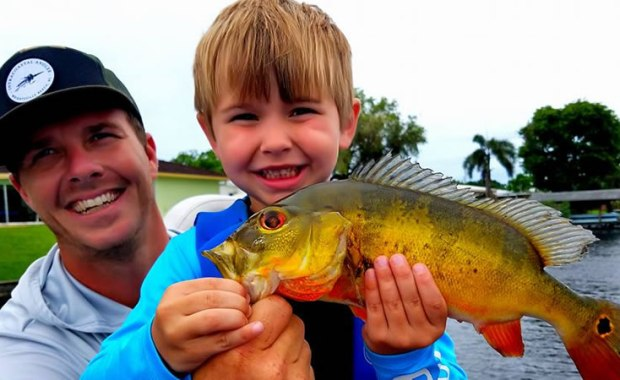 Family Lake Ida Fishing Charters in Palm Beach County