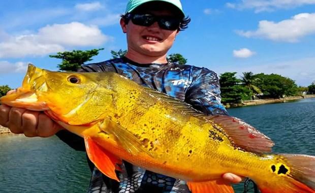 Urban Miami Peacock Bass Fishing