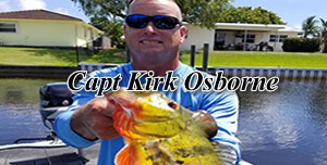 Capt Kirk Osborne - Florida Peacock bass fishing guides