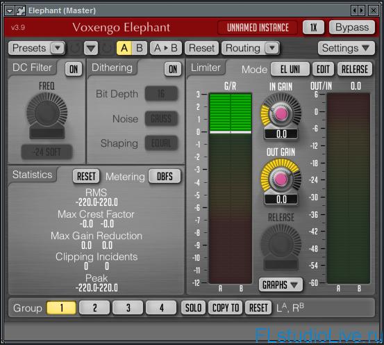 Скачать Voxengo Elephant 3.9 для FL Studio