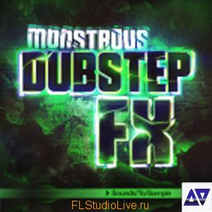 скачать сэмплы Monstrous Dubstep FX WAV