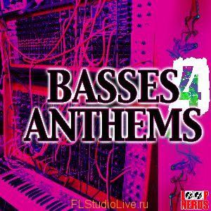Пакет лупов Loop Nerds - Basses 4 Anthems для FL Studio