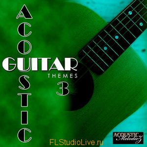 Лупы и сэмплы Acoustic Melodiez - Acoustic Guitar Themes 3 FL Studio