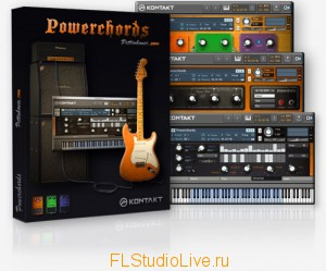 Сэмплы для FL Studio-Pettinhouse Guitar Power Chords KONTAKT