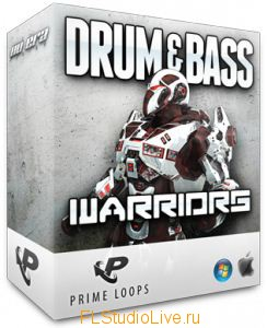 Сэмплы Prime Loops Drum and Bass Warriors для FL Studio