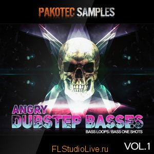 Сэмплы Pakotec Samples - Angry Dubstep Basses Vol 1 для FL Studio