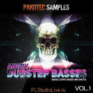 Сэмплы Pakotec Samples - Angry Dubstep Basses Vol 1 для FL Studio