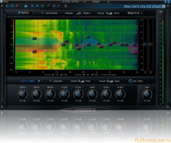 Blue Cat Audio Liny EQ v5.0