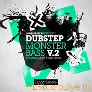 Скачать Dubstep сэмплы для FL Studio 10 Loopmasters - Dubstep Monster Bass Vol 2