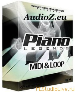 Скачать сэмплы для FL Studio Industry Kits Piano Legends