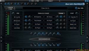 Скачать Blue Cat Audio Blue Cat PatchWork v1.73 Incl. R2R Keygen