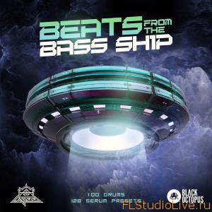 Сэмплы и пресеты Black Octopus Sound Beats From The Bass Ship для XFER RECORDS SERUM