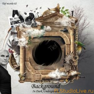 Сэмплы для FL Studio Tief Background in Underground Dark WAV