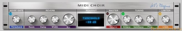 VST плагин - MV's Plugins MIDI Choir v1.0 x32 VST WIN