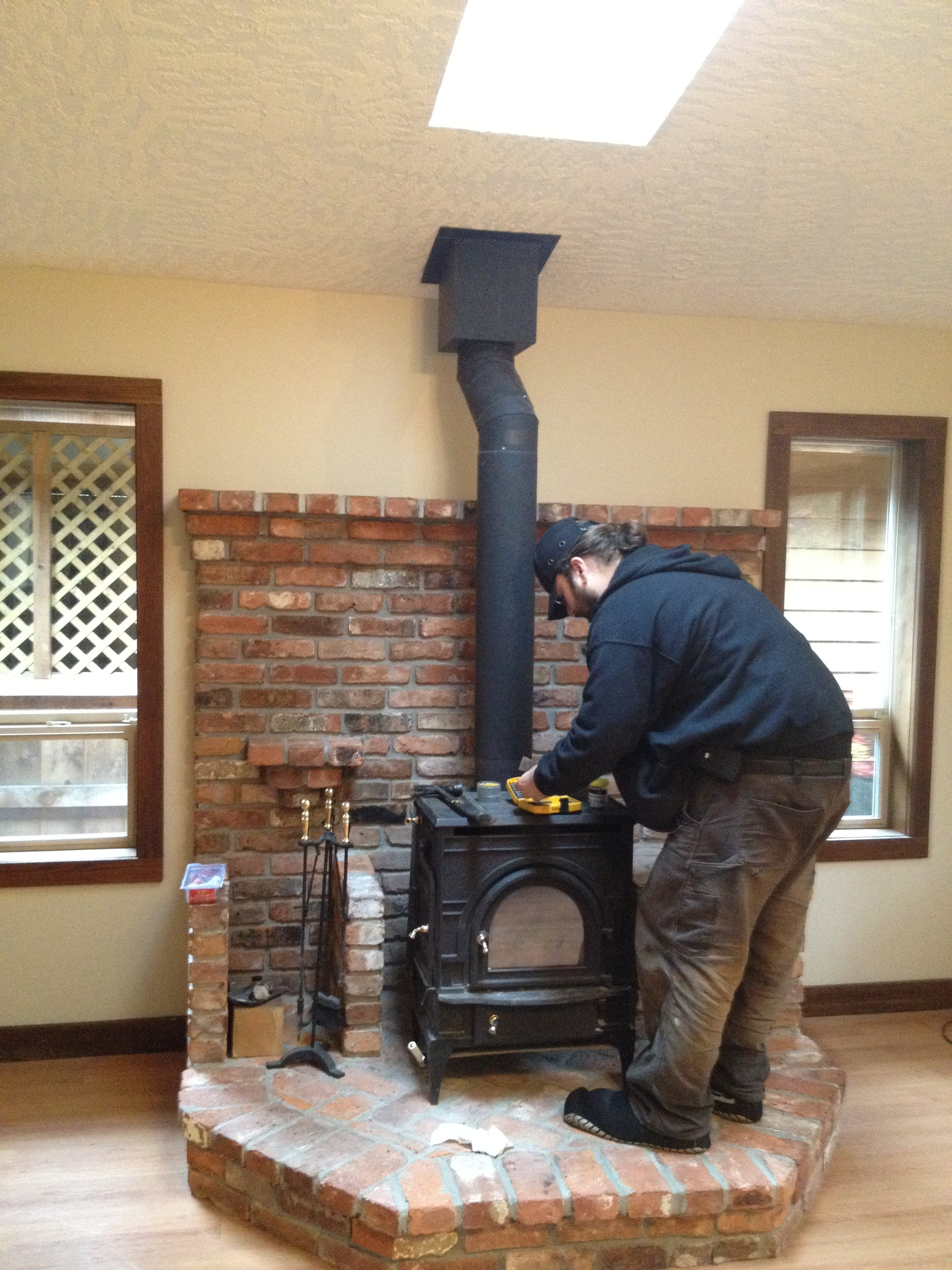 How To Clean A Wood Burning Fireplace Chimney