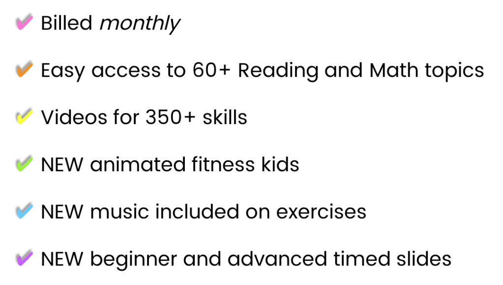 monthly fluency and fitness plan