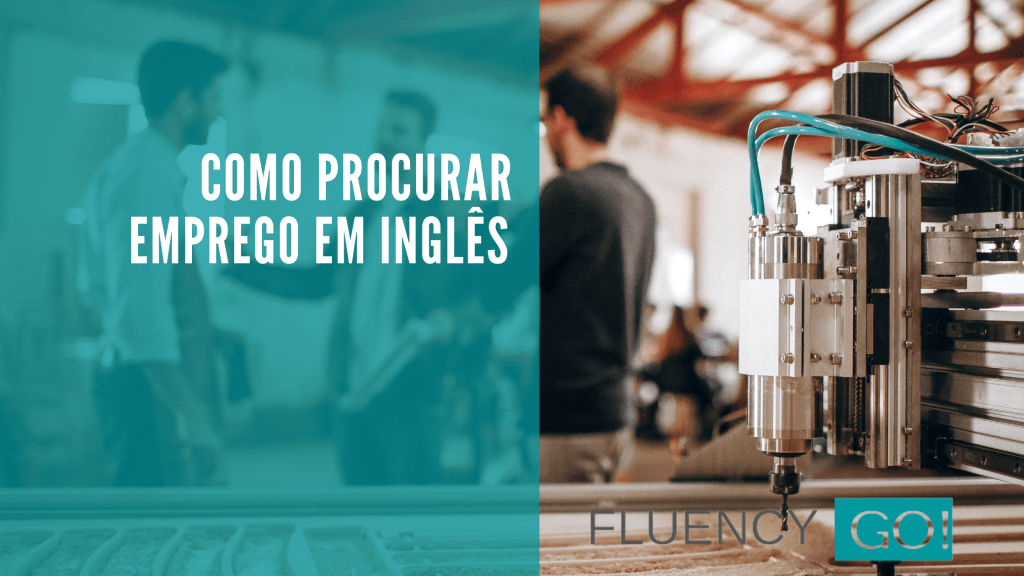 como procurar emprego em inglês