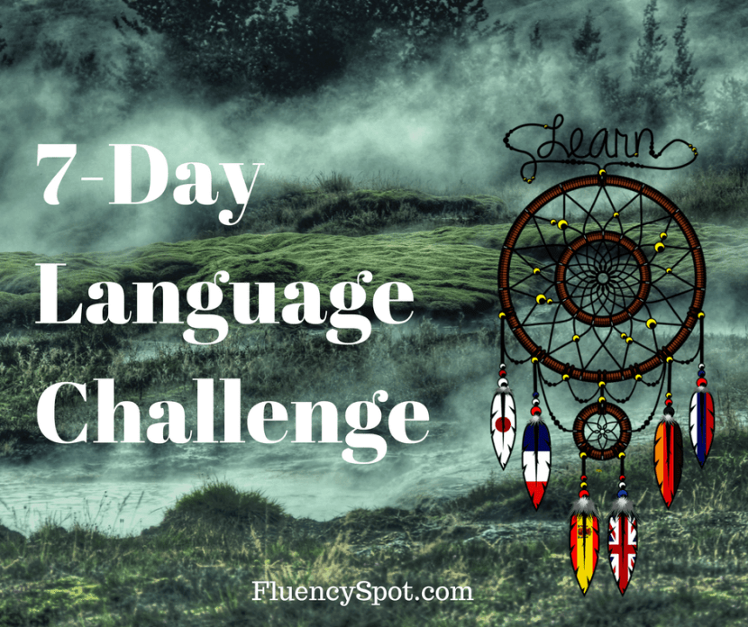 The 7 day language challenge
