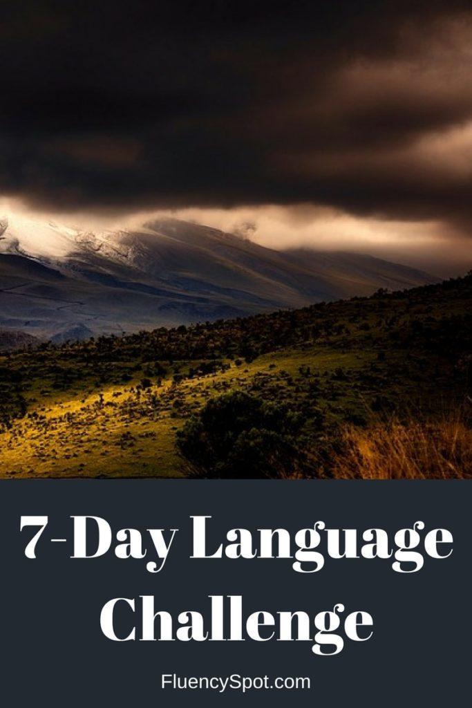 7-Day Language Challenge