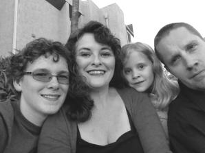 B/W Family Portrait 12/2014