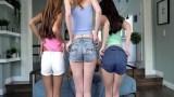 Asyalı kıza sikişmeyi öğreten genç kızlar