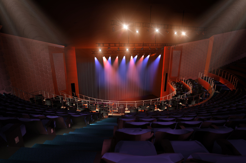 A view of the IndigO2